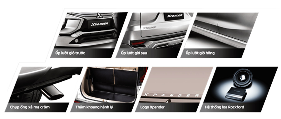Bộ phụ kiện chính hãng Xpander SE