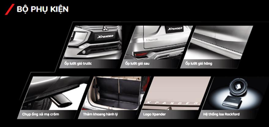Bộ phụ kiện Bodykit của phiên bản Mitsu Xpander (SE)